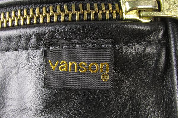 VANSON バンソン レザーウエストバッグ