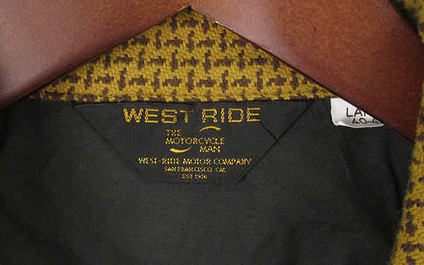 ウエストライド オープンカラー ヘビーネルシャツ