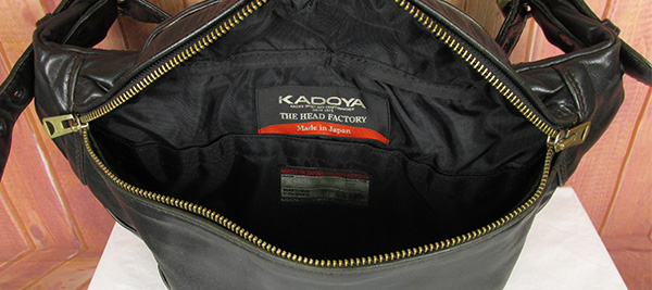 KADOYA カドヤ ヘッドファクトリー レザー ウエストバッグ