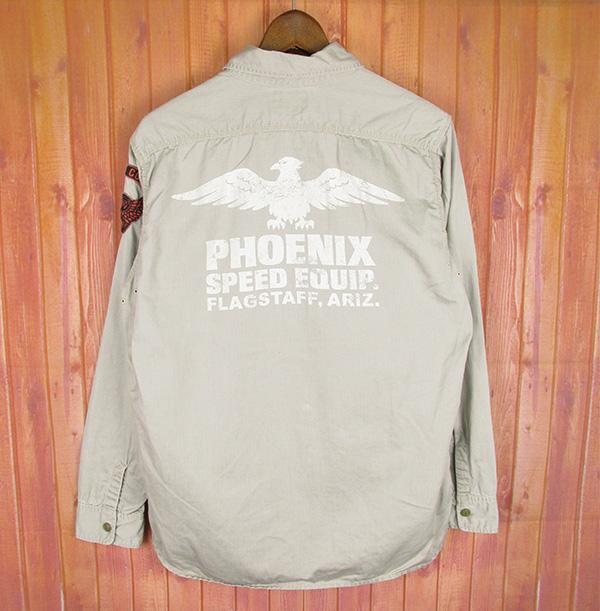 トイズマッコイ PHOENIX ワークシャツ