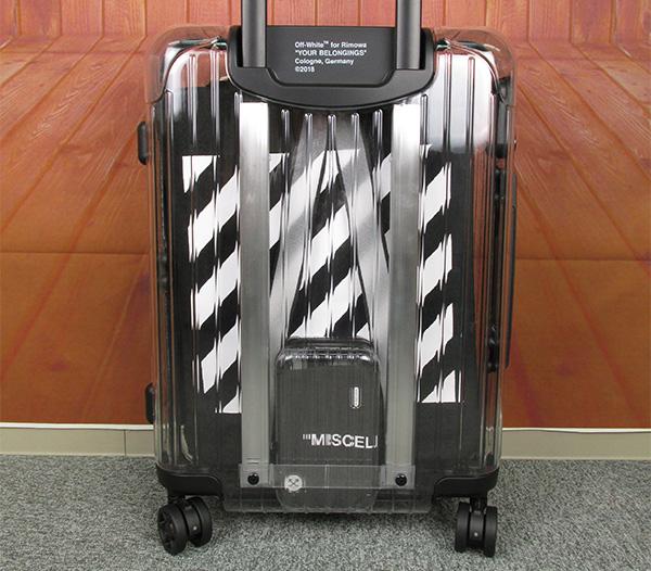 OFF-WHITE×RIMOWA オフホワイト×リモワ コラボ See Through スケルトン スーツケース