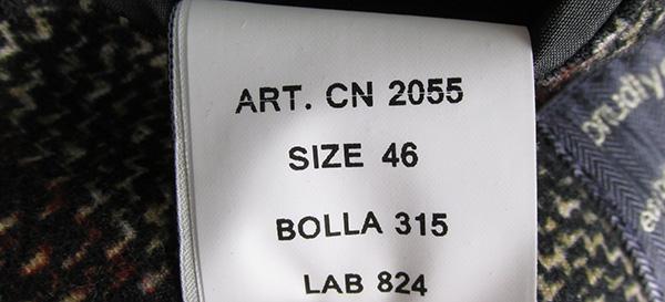 CIRCOLO1901 チルコロ1901 ウインドウペンプリント 2B ジャージー ジャケット