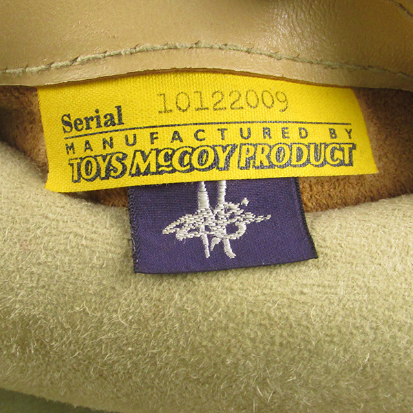 トイズマッコイ B-3 ノンコーティング フライトジャケット