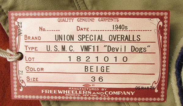 フリーホイーラーズ 1821010 Devil Dogs デッキジャケット