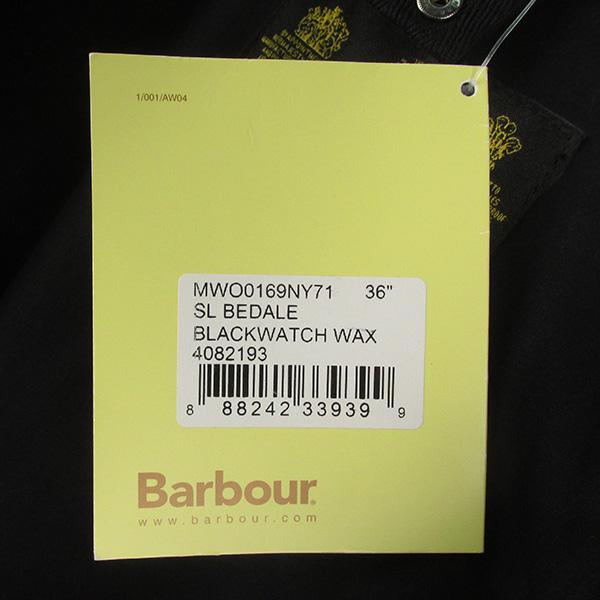 BARBOUR バブアー ウール ブラックウォッチ SL ビデイルジャケット