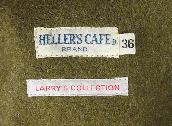 ウエアハウス ヘラーズカフェ 1930s RED HEAD Wool & Cotton Cruiser Jacket クルーザージャケット