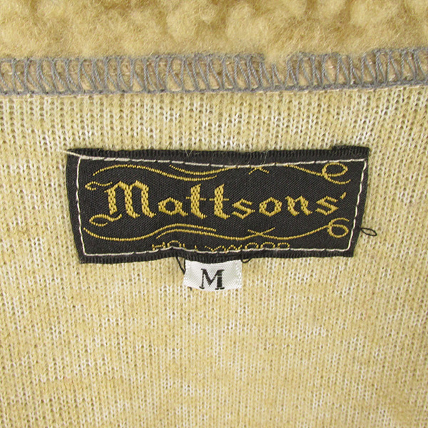 クッシュマン MATTSON'S グリズリージャケット 熊ジャン