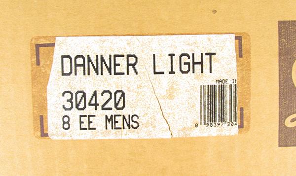 DANNER ダナー 30420 ダナーライト ブーツ 黒タグ