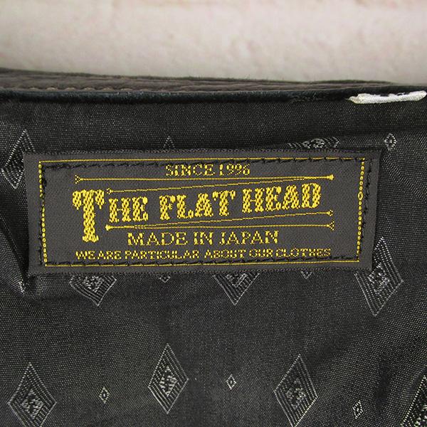 The Flat Head フラットヘッド FSD-32KA ディアスキン ウエスタンシャツ