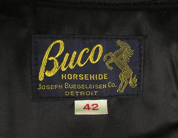 REAL MCCOY'S リアルマッコイズ BUCO ブコ J-100 パデッド シングルライダースジャケット