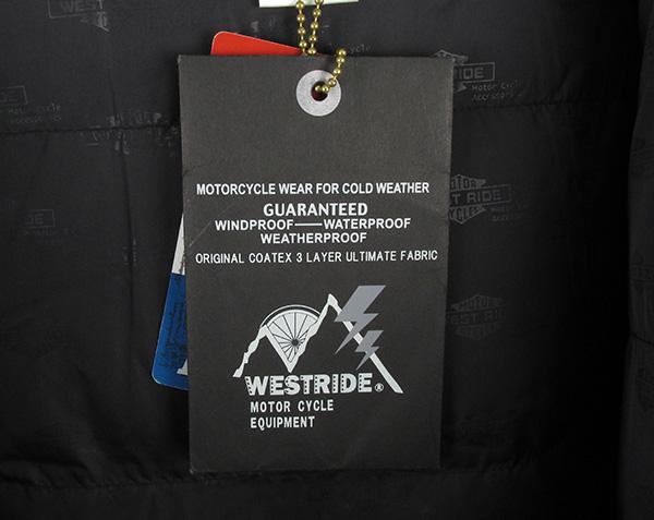 WESTRIDE ウエストライド マウンテンライダース ダウンジャケット