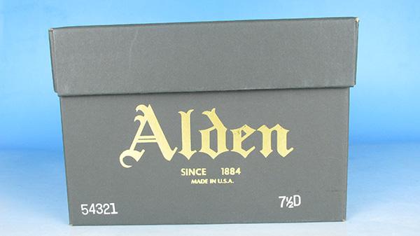 Alden オールデン 54321 コードバン Vチップ シューズ