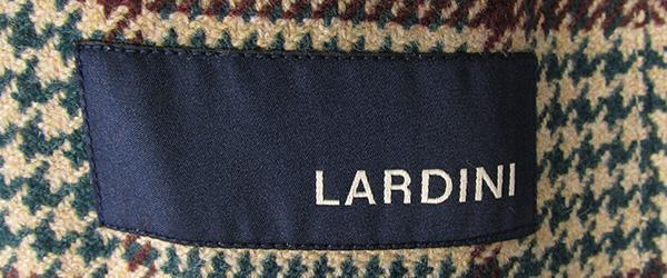 ラルディーニ JN903AQ イージー イングリッシュウール ライトツイードオーバーチェック 3B段返り ジャケット