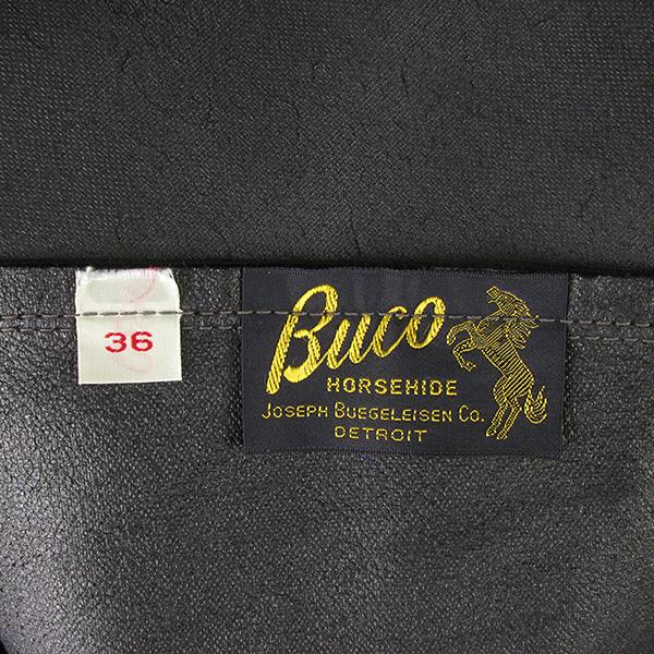 REAL MCCOY'S リアルマッコイズ BUCO ブコ J-100 LEATHER RACER SHIRT ライダースジャケット