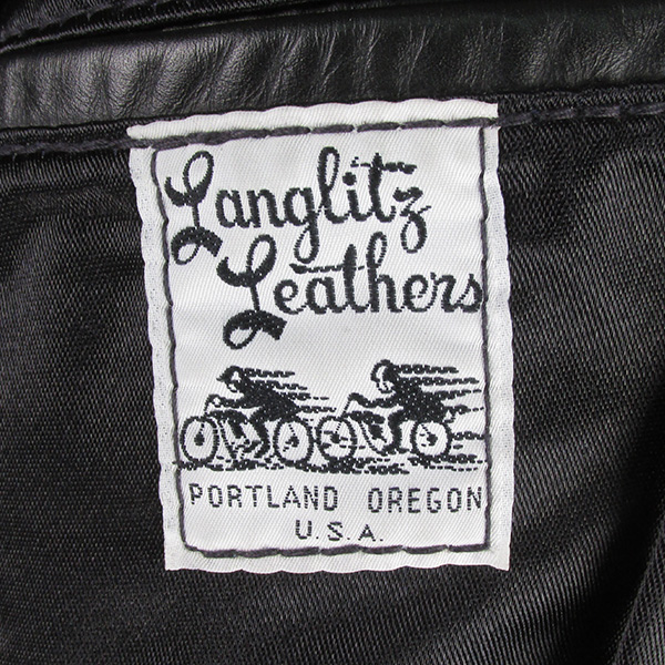 Langlitz Leathers ラングリッツレザー 襟ボア パデッド コロンビア ライダースジャケット