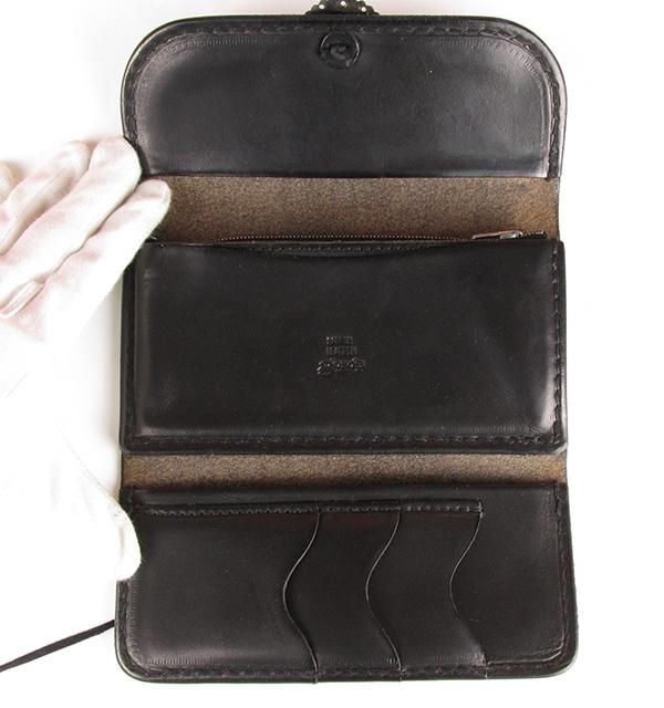 Goro's ゴローズ コンチョ付き 三つ折り ロングウォレット 長財布