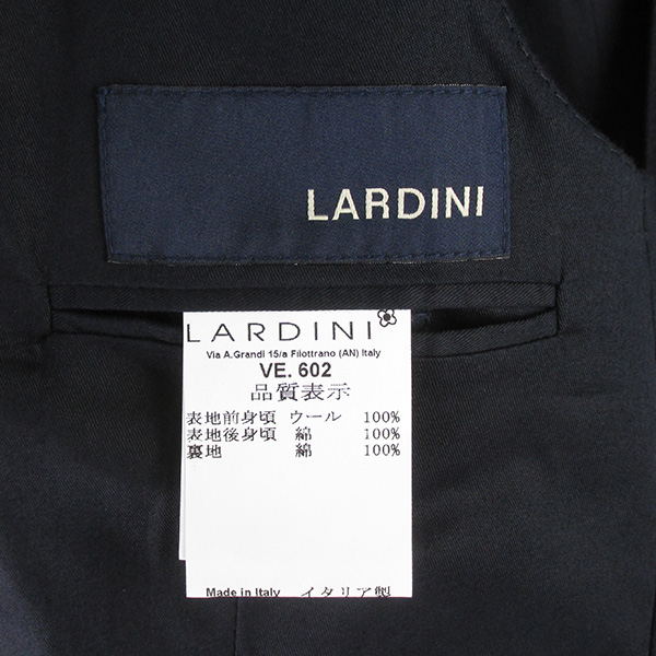 LARDINI ラルディーニ JN77034 ダブルブレスト ジレ ベスト