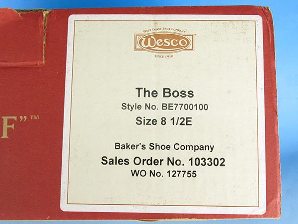 WESCO ウエスコ BOSS ボス スエード エンジニアブーツ