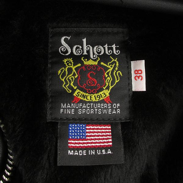 SCHOTT ショット 174US レザー ボンバージャケット