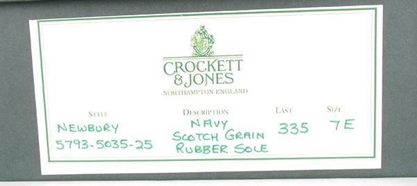 Crockett&Jones クロケットアンドジョーンズ NEWBURY ニューベリー サイドゴアブーツ