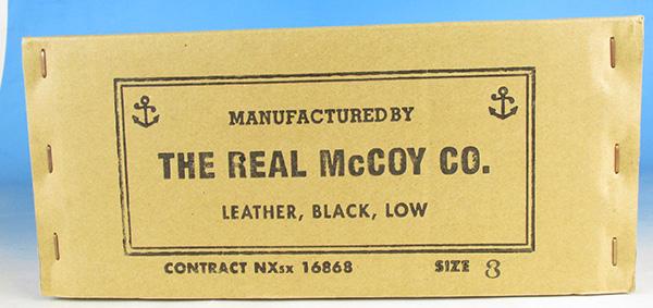 THE REAL McCOY'S リアルマッコイズ MA17009 USN サービスシューズ