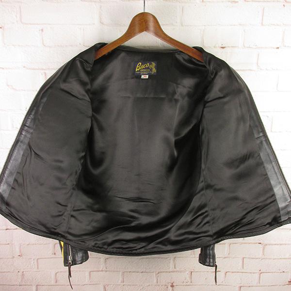 REAL MCCOY'S リアルマッコイズ BUCO ブコ J-100 ダイヤモンド シングルライダースジャケット