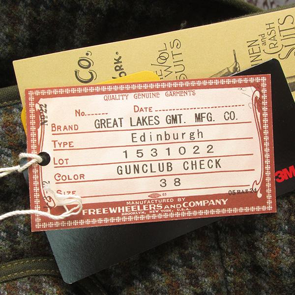 FREEWHEELERS フリーホイーラーズ Edinburgh エジンバラ ハンティングコート