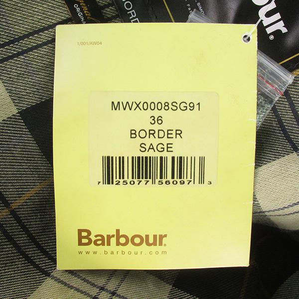 BARBOUR バブアー BORDER ボーダー クラシックフィット オイルドコットン ジャケット