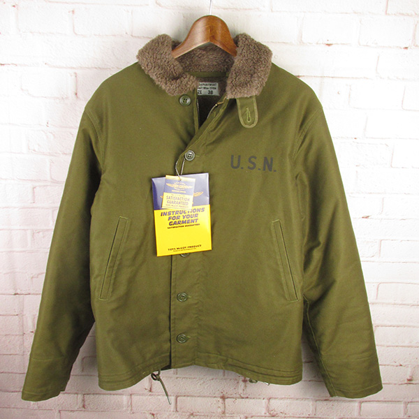 TOYS McCOY トイズマッコイ TMJ1138 N-1 デッキジャケット