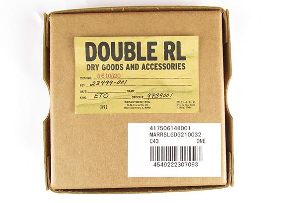 RRL ダブルアールエル コンチョ 三つ折り財布