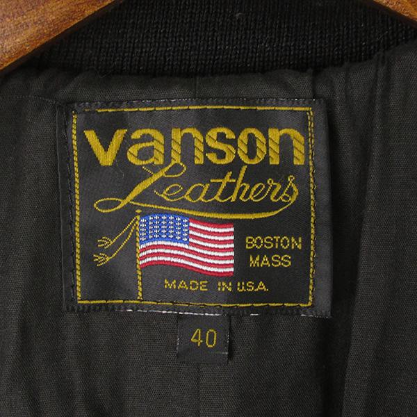 VANSON バンソン TJP レザージャケット