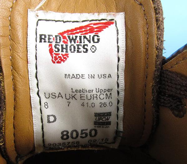 REDWING レッドウィング 8050 フォアマン オックスフォード シューズ