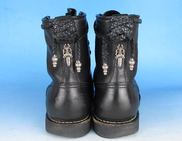 CHROMEHEARTS×WESCO クロムハーツ ウエスコ ファイヤーマン センタージップ ブーツ