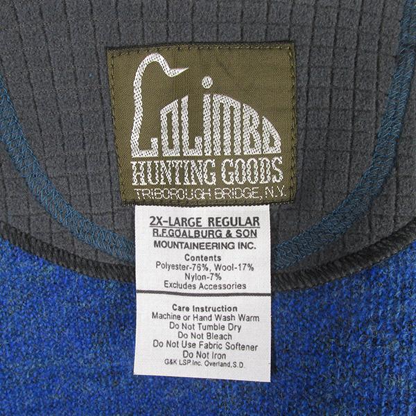 COLIMBO コリンボ ALBERT SYNTHETIC PILE JACKET アルバート シンセティック パイルジャケット