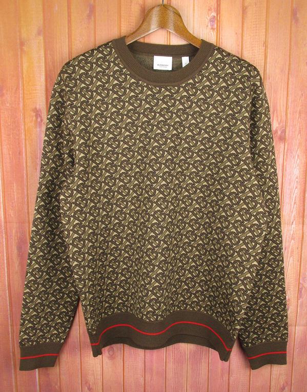 BURBERRY バーバリー モノグラム ジャガード セーター
