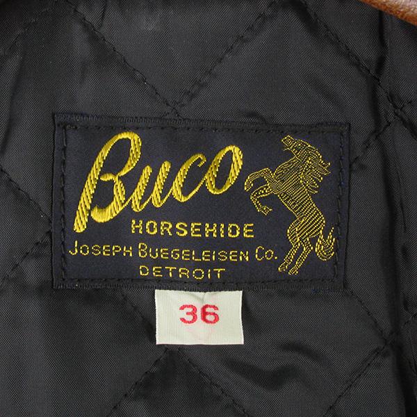 REAL MCCOY'S リアルマッコイズ BUCO ブコ J-25 ホースハイド ライダースジャケット