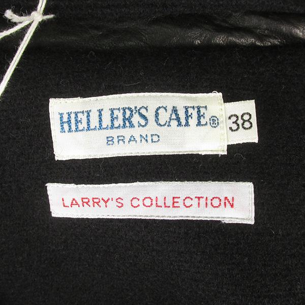 ヘラーズカフェ ウエアハウス HC-208 1920's Chinstrap Horse Leather Coat ホースハイド レザーコート