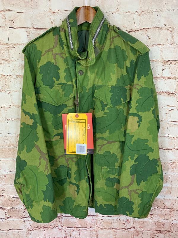 REAL McCOY'S、リアルマッコイズのフィールドジャケット、MJ18005 MITCHELL CAMOFLAUGE M-65