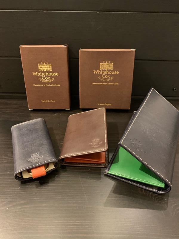 Whitehouse Cox(ホワイトハウスコックス)の財布、カードケース、キーホルダー、ベルト
