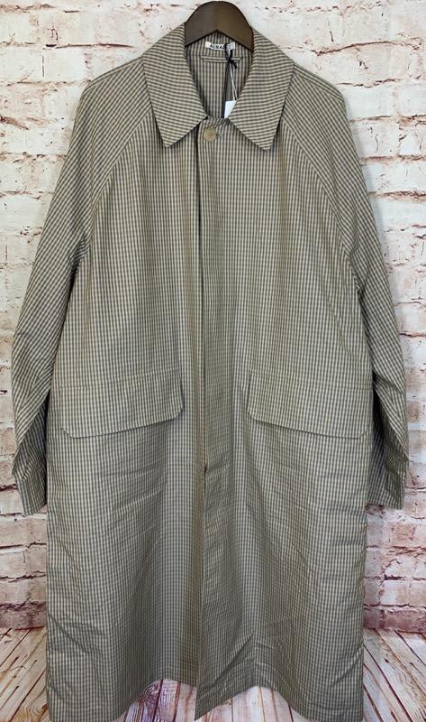 AURALEE(オーラリー)の19SS FINX WEATHER CLOTH CHECK COAT
