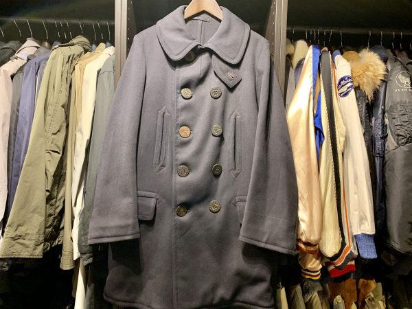 VINTAGE US NAVY(ビンテージ US ネイビー)の1910?1920'S、13スターのPコート