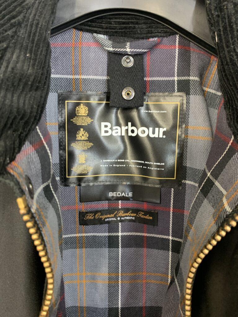 Barbour(バブアー)、クラシック ビデイル