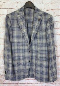 LARDINI(ラルディーニ)のウール×シルク、3つボタン段返りジャケット、JM0526AQを買取りしました!