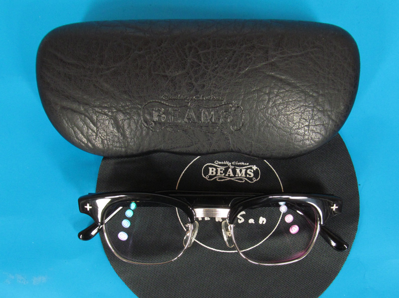 白山眼鏡 ビームスプラス LINDY フレーム 眼鏡の入荷