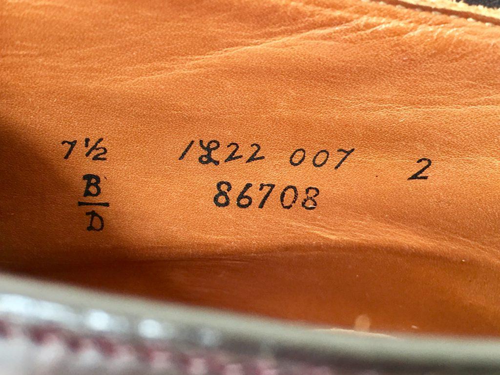 オールデン コードバン 6アイレット チャッカブーツを買取