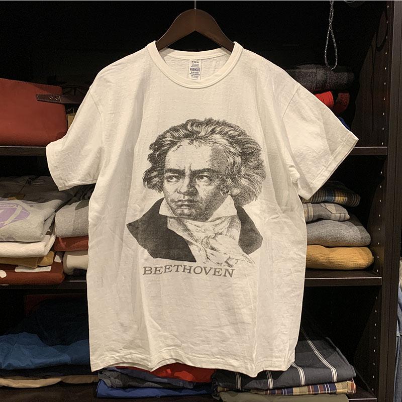 ウエアハウス 音楽家Tシャツ セコハン ベートーベン