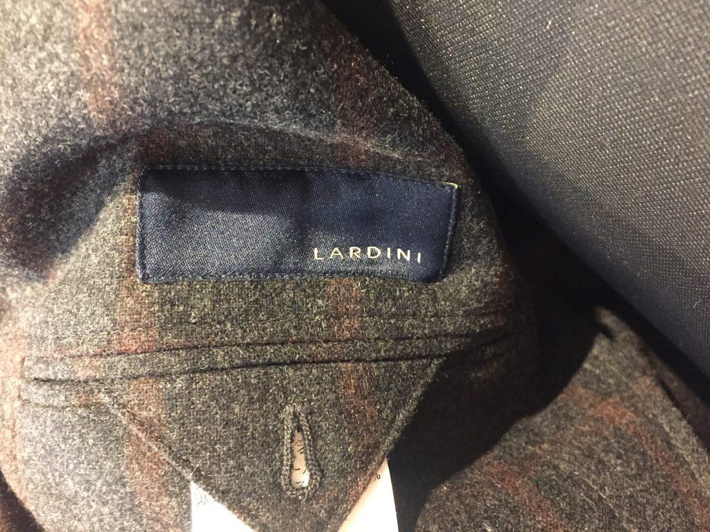 LARDINI ラルディーニ ウィンドウペーンチェック ジャケットを買取