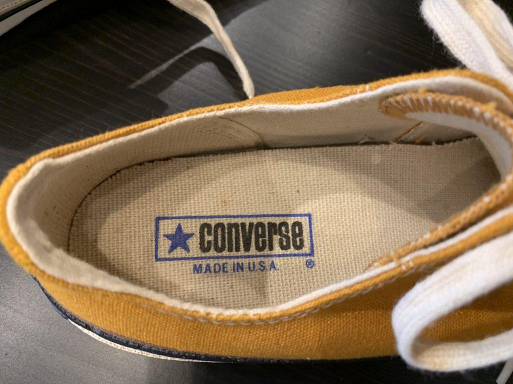 70'S CONVERSE コンバース チャックテイラー デッドストックの買取相場
