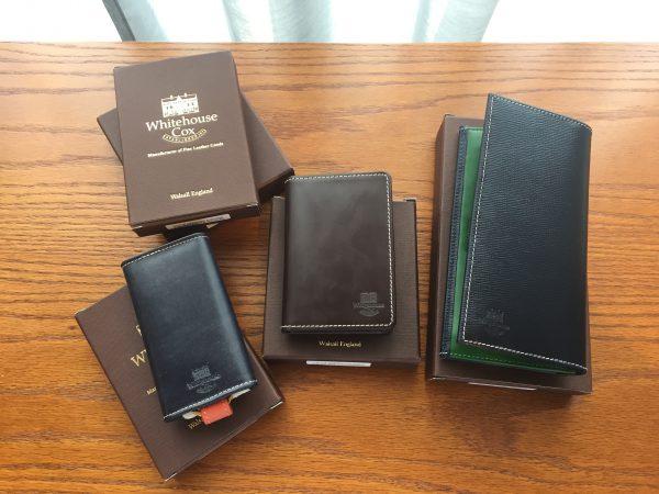 WHITEHOUSE COX ホワイトハウスコックス 財布 カードケース キーケースの買取のご紹介です。