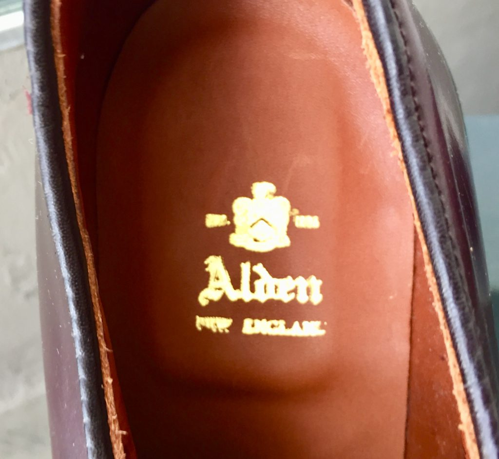 ALDEN 990 オールデン コードバン プレーントゥ ブルーチャーを買取